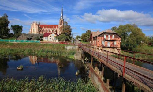 BIAłORUś / Grodno /  Gierwiaty / Kościół Św. Trójcy