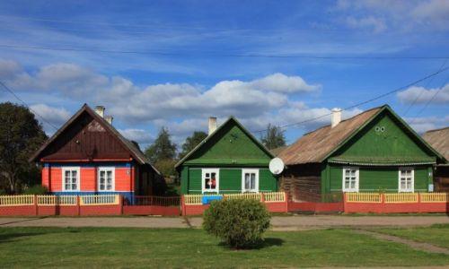 Zdjęcie BIAłORUś / Grodno /  Gierwiaty / Kolorowe domki