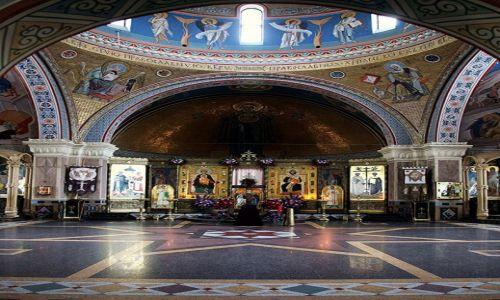 Zdjęcie BIAłORUś / Mińsk / Nowinki / Monaster św. Elżbiety, wnętrze