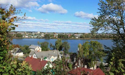 Zdjęcie BIAłORUś / Brasław / Wzgórze zamkowe / Panorama miasta