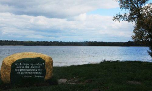 BIAłORUś / Nowogródek / Jezioro Świteź / Świtezianka