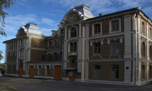 BIAłORUś / Grodno / Stara dzielnica żydowska / Wielka Synagoga, zwana Chóralną