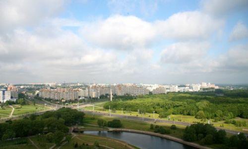 Zdjęcie BIAłORUś / - / Mińsk / Mińsk - widok z hotelowego okna