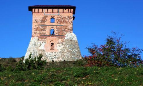 BIAłORUś / Nowogródek / Wzgórze zamkowe / Wieża