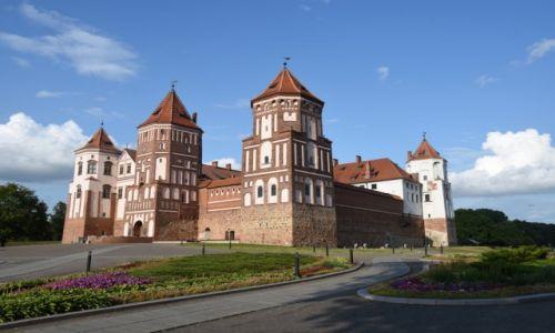 BIAłORUś / obwód grodzieński / Mir / Zamek Radziwiłłów