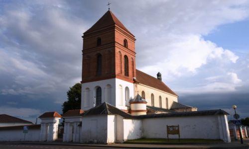 Zdjęcie BIAłORUś / obwód grodzieński / Mir / Kościół farny św. Mikołaja