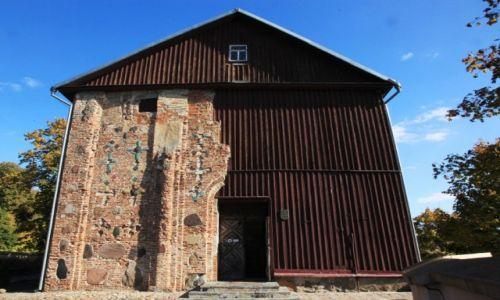 Zdjęcie BIAłORUś / Grodno / Cerkiew pw. św. Borysa i Gleba z XII w. / Ceglano-drewniana