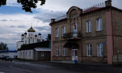 Zdjęcie BIAłORUś / Lida / Lida / Cerkiew w tle