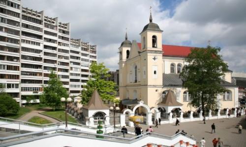 Zdjecie BIAłORUś / - / Mińsk / Cerkiew śś. Pio