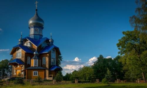 Zdjęcie BIAłORUś / - / okolice Studziennik / cerkiew