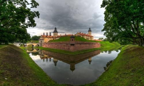 Zdjecie BIAłORUś / - / Nieśwież / zamek Radziwiłó