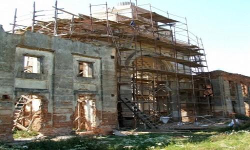 Zdjęcie BIAłORUś / Obwód brzeski, rejon prużański / Różana / Ruiny pałacu Sapiehów