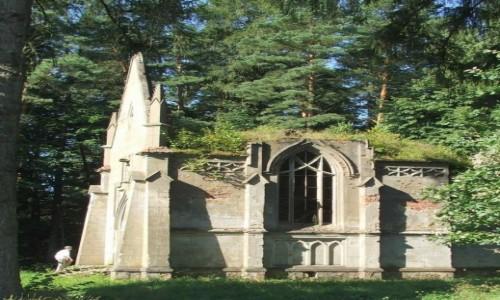 Zdjecie BIAłORUś / Obwód brzeski, rejon lachowicki / Hruszówka / Kaplica grobowa Reytanów
