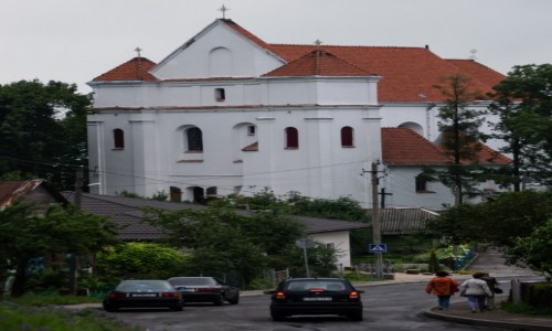 Zdjecie BIAłORUś / - / Nowogródek / Kościół farny (Witoldowy)