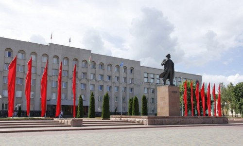 Zdjecie BIAłORUś / Obwód grodzieński / Grodno / Grodno - Plac Lenina