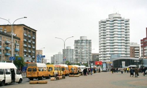 Zdjęcie BIAłORUś / - / Mińsk / Radziecki modernizm