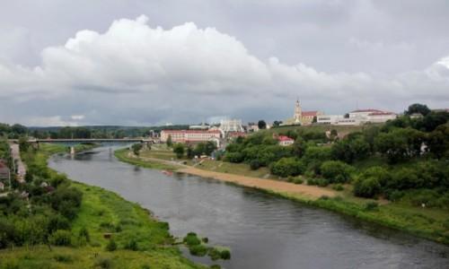 Zdjecie BIAłORUś / Obwód grodzieński / Grodno / Niemen w Grodnie