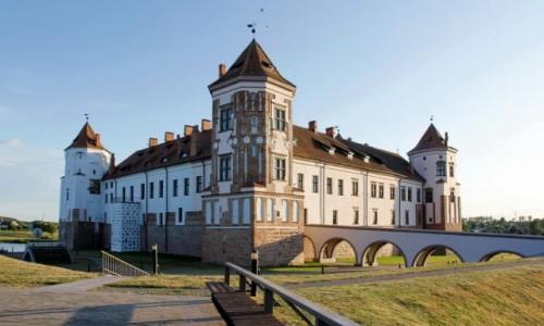 Zdjęcie BIAłORUś / Obwód grodzieński / Mir / Zamek w Mirze