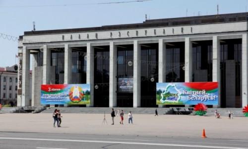 Zdjecie BIAłORUś / - / Mińsk / Pałac Republiki