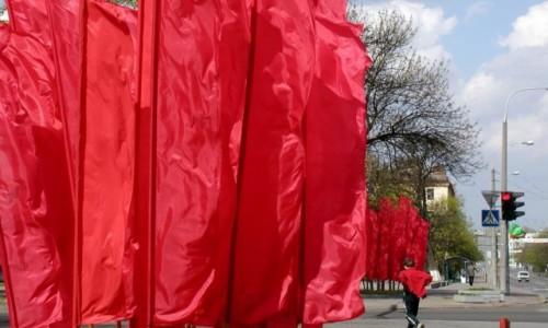 Zdjecie BIAłORUś / Obwód brzeski / Brześć / Dekoracje na majowe święta
