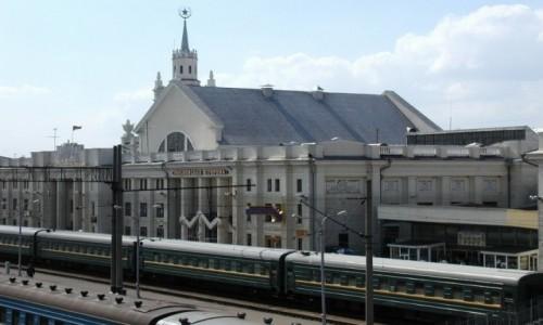 Zdjecie BIAłORUś / Obwód brzeski / Brześć / Dworzec kolejowy w Brześciu