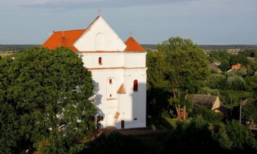 BIAłORUś / Obwód grodzieński / Nowogródek / Kościół farny pw. Przemienienia Pańskiego