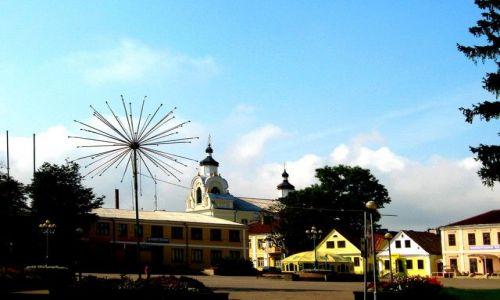 Zdjęcie BIAłORUś / grodzieński / Nowogródek / centralny plac Nowogródka
