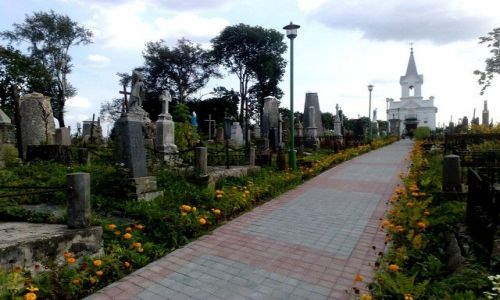 Zdjęcie BIAłORUś / grodzieński / Grodno / stary cmentarz w Grodnie