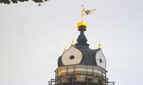 Zdjecie BIAłORUś / - / Nieśwież / wieżyczka zamku w Nieświeżu