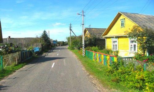 BIAłORUś / grodzieński /  okolice Zaosia /  kolory wsi białoruskiej