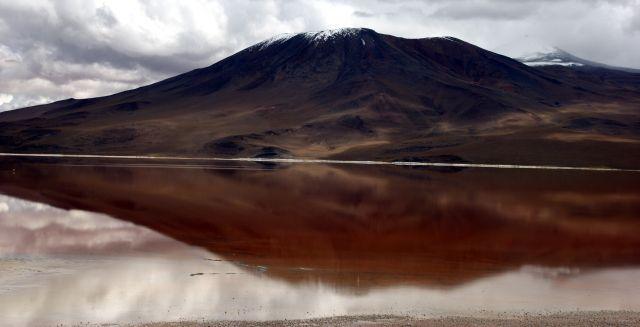 Zdjęcia: Laguna Colorada, Laguna Colorada, Lustro, BOLIWIA