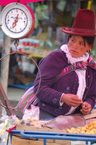 Zdjęcia: Potosi, Kapelusze Ameryki Pd., BOLIWIA