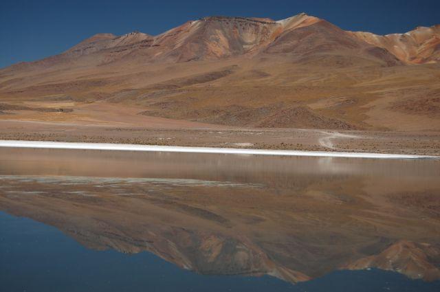Zdjęcia: Okolice Uyuni przy granicy z Chile, Laguna, BOLIWIA