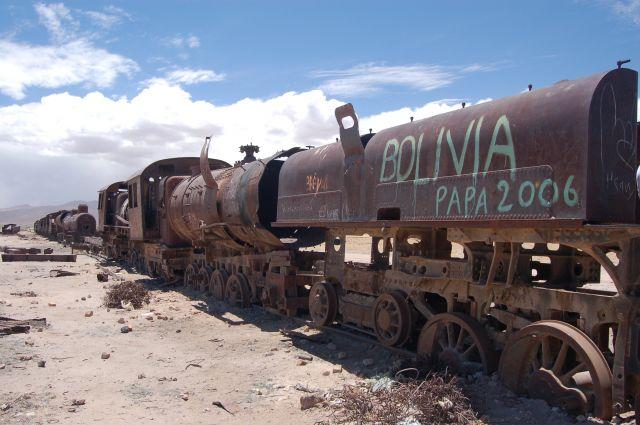 Zdjęcia: Uyuni, Cementerio de trenes, BOLIWIA