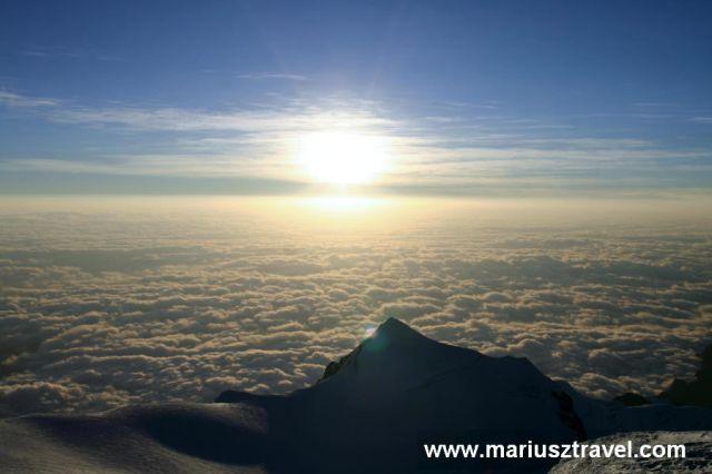 Zdjęcia: Illimani, widok z Illimani 6438m, BOLIWIA