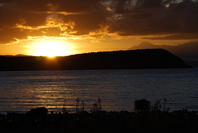 Zdjęcia: Boliwia, Isla del Sol, wschód słońca nad Titicaca, BOLIWIA