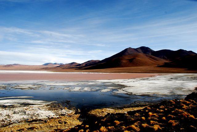 Zdjęcia: Boliwia, Południowo-zachodnia Boliwia, Laguna Colorada, BOLIWIA