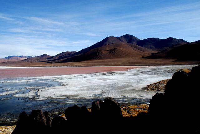 Zdjęcia: Boliwia, niedaleko granicy z Chile, Południowo-zachodnia Boliwia, Laguna Colorada, BOLIWIA