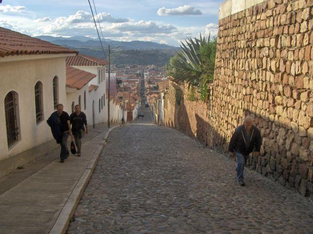 Zdjęcia: Sucre , Chiquisaca, ulice Sucre, BOLIWIA