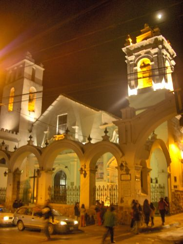 Zdjęcia: Sucre, Chiquisaca, Kościół w Sucre , BOLIWIA