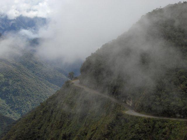 Zdjęcia: Coroico, La Paz, Najniebezpieczniejsza droga świata, BOLIWIA