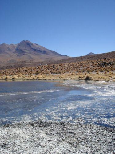 Zdjęcia: pod granica z Chile, laguna, BOLIWIA