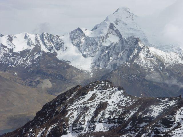 Zdjęcia: Chacaltaya powyżej 5 tys. m.npm, oklolice La Paz, w góry Boliwii, BOLIWIA