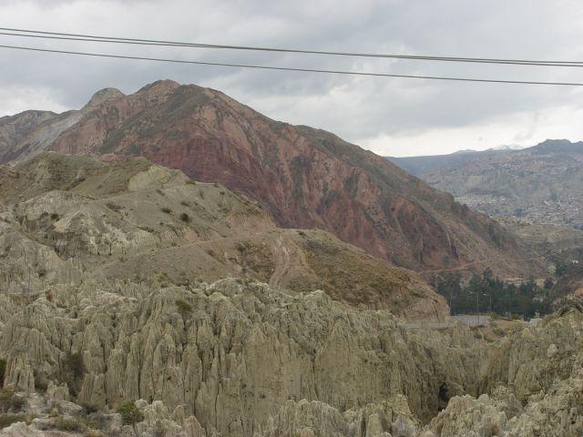 Zdjęcia: La Paz, przedmieścia La Paz, wjazd do La Paz, BOLIWIA