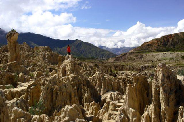 Zdj�cia: LA PAZ :Dolina ksi�yowa:, Fotka02, BOLIWIA