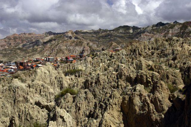 Zdjęcia: LA PAZ :Dolina księżyowa:, Fotka 03, BOLIWIA
