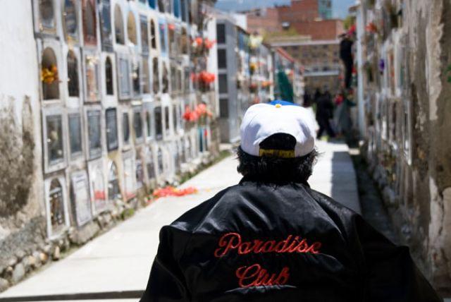 Zdj�cia: LA PAZ  cmentarz w stolicy, Fotka 06, BOLIWIA