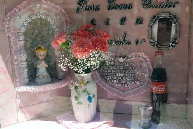 Zdjęcia: LA PAZ  cmentarz w stolicy, Fotka 07, BOLIWIA