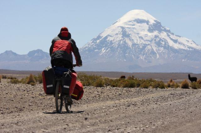Zdj�cia: Wulkan Sajama, Zachodnia Boliwia, W stron� Sajama, BOLIWIA