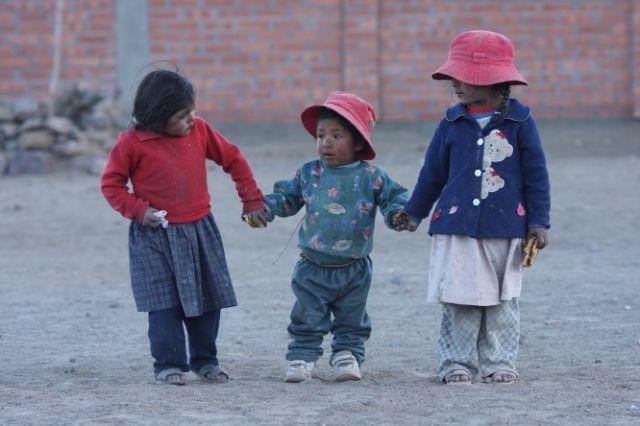 Zdj�cia: Wioska Nogachi, Dzieci , BOLIWIA